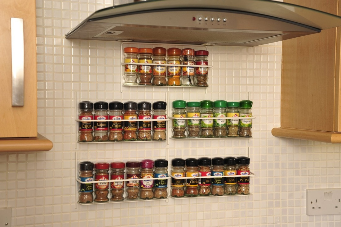 Wall Mounted Spice Cabinet Plans