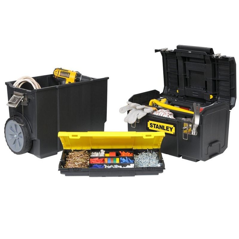 stackable tool boxes on wheels