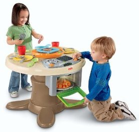 Fisher Price Servinu0027 Surprises Kitchen U0026 Table. A Toddler Activity ...